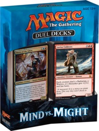 Magic: The Gathering - Duel Deck: Mind vs Might (Trading Card Game) - Cover