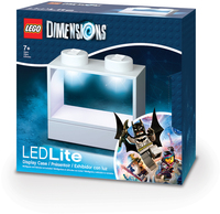 LEGO Dimensions LED Lite - Display Case for Minifigures - White