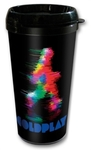 Coldplay Fuzzy Man Travel Mug Cover