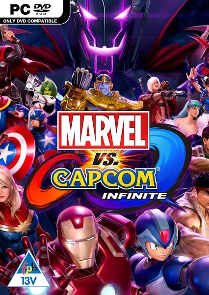 Image result for Marvel vs. Capcom Infinite cover pc