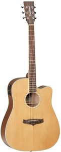 Tanglewood TW10 Winterleaf Dreadnought Acoustic Electric Guitar (Natural) - Cover