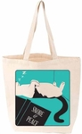 Snore and Peace Cat Tote (Accessory)