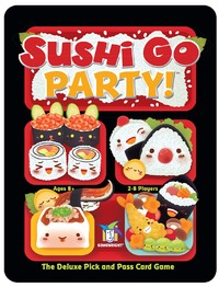 Sushi Go Party (Card Game) - Cover