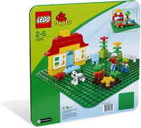 LEGO DUPLO® Creative Play - Green Baseplate (1 Piece) - Cover