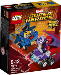 LEGO® Super Heroes - Mighty Micros: Wolverine vs. Magneto - Cover
