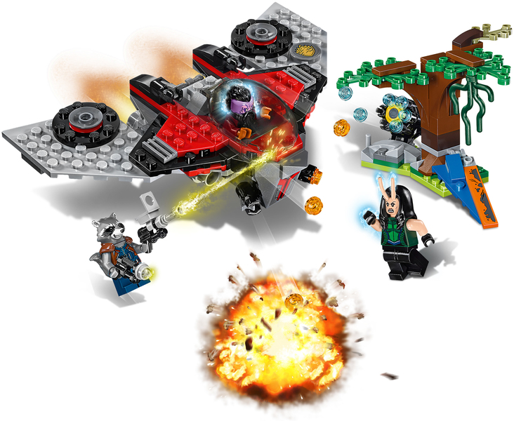 LEGO® Super Heroes - Marvel Guardians of the Galaxy Ravager Attack ...