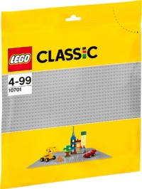 LEGO® Classic - Gray Baseplate - Cover