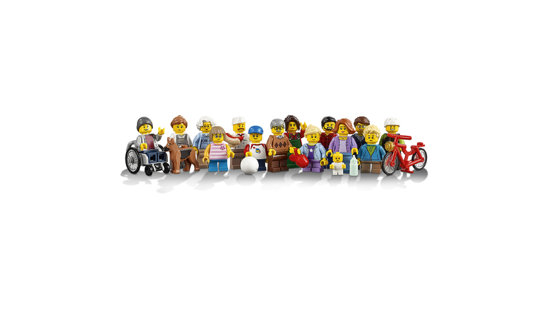 LEGO® City Town - Fun in the park - City People Pack - Hobbies ...