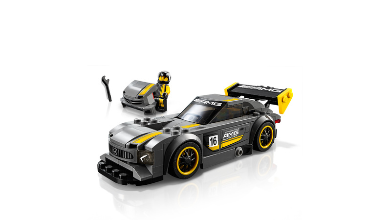 lego speed champions mercedes amg gt3 hobbies toys. Black Bedroom Furniture Sets. Home Design Ideas