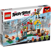 LEGO® Angry Birds - Pig City Teardown