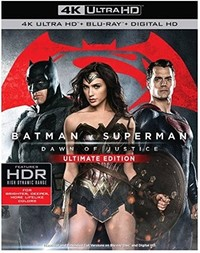 Batman V Superman: Dawn of Justice (Extended Edition - 4k Disc / Theatrical Ed - Blu-ray Disc) (4K Ultra HD + Blu-Ray)