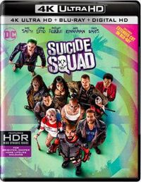 Suicide Squad (Theatrical Edition - 4K Disc/Extended Edition - Blu-ray Disc) (4K Ultra HD + Blu-Ray)