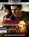 Jack Reacher: Never Go Back (4K Ultra HD + Blu-Ray)