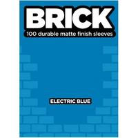 Legion Brick Sleeves - Electric Blue (100 Sleeves)