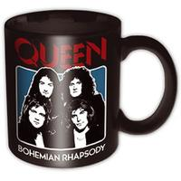 Queen Bohemian Rhapsody Black Mug