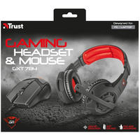Trust - GXT 784 Gaming Headset & Mouse