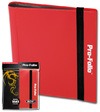 BCW - Pro-Folio 4-Pocket Album - Red