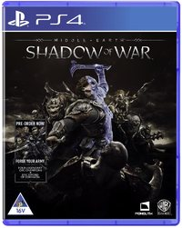 Middle-Earth: Shadow of War (PS4) - Cover