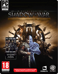 Middle-Earth: Shadow of War (PC) - Cover
