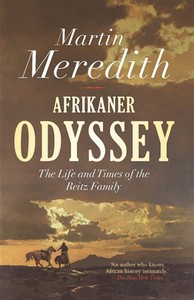 Afrikaner Odyssey - Martin Meredith (Trade Paperback) - Cover
