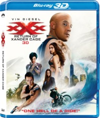 xXx: The Return of Xander Cage (3D Blu-ray) - Cover