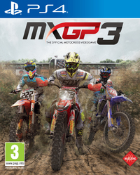MXGP 3 - The Official Motocross Videogame (PS4) - Cover
