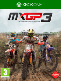 MXGP 3 - The Official Motocross Videogame (Xbox One) - Cover