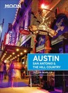 Moon Austin, San Antonio & the Hill Country (Fifth Edition) - Justin Marler (Paperback)