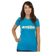 Minecraft Pounce Women's T-Shirt - Turquoise (Large)