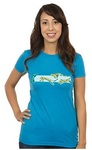 Minecraft Pounce Women's T-Shirt - Turquoise (X-Large)