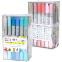 Copic Ciao 24 Color Jinbutsu to Haikei Select Light (Other)