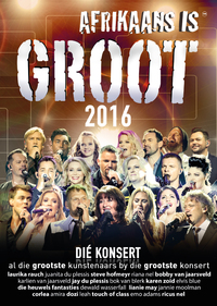 Various Artists - Afrikaans Is Groot 2016 (DVD) - Cover