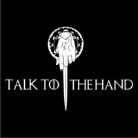 Talk to the Hand Women's T-Shirt - Black (Large) - Cover