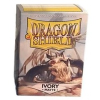 Dragon Shield - Standard Sleeves - Matte Ivory (100 Sleeves) - Cover