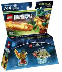LEGO Dimensions: Chima Cragger Fun Pack (For PS3/PS4/Xbox 360/Xbox One) - Cover