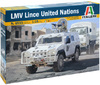 Italeri - 1/35 Lince Armoured Vehicle - UN (Plastic Model Kit)