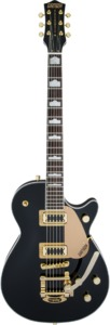 Grestch G5435TG-BLK-LTD16 Limited Edition Electromatic Pro Jet (Black with Bigsby and Gold Hardware)