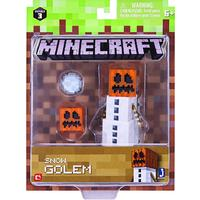 "Minecraft 3"" Action Figure - Snow Golem"
