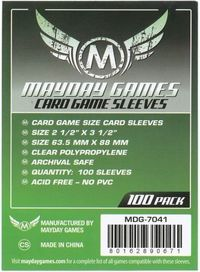 Mayday Games - Standard Card Game Size Sleeves (100) - Cover