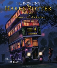 Harry Potter and the Prisoner of Azkaban Ill Ed - J. K. Rowling (Hardcover) - Cover