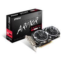 MSI AMD Radeon RX 470 Armor 4G OC Graphics Card