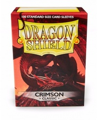 Dragon Shield - Standard Sleeves - Crimson (100 Sleeves) - Cover