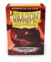 Dragon Shield - Standard Sleeves - Crimson (100 Sleeves)