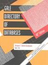 Gale Directory of Databases - Gale Cengage Learning (Paperback)
