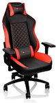 Tt eSports GT Comfort Gaming Chair - Black and Red