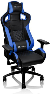 Tt eSport GT Fit Gaming Chair - Blue and Black - Cover