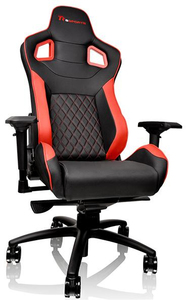 Tt eSports GT Fit Gaming Chair - Red and Black - Cover