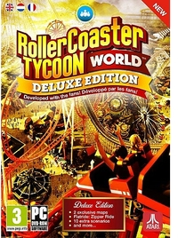 RollerCoaster Tycoon World (PC) - Cover