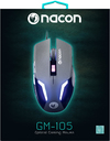 NACON PCGM-105 Optical Wired Gaming Mouse