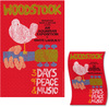Woodstock Textile Poster Flag